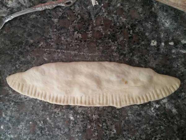 Fladen mit Kartoffel - Patatesli Karışık Pideler