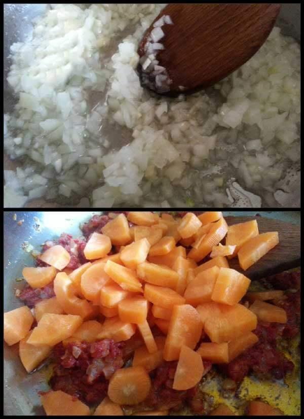 Frikadellen Eintopf mit Kartoffel - Sebzeli Sulu Köfte