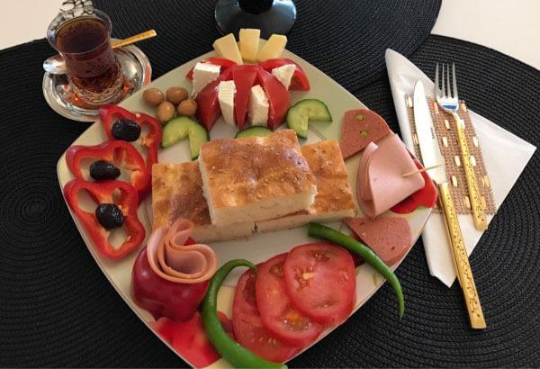 Gebäck für den Frühstück - Kahvaltılık Çörek
