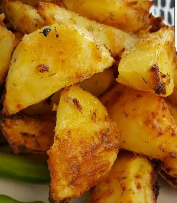 Kartoffel mit Joghurt - Yoğurtlu Patates