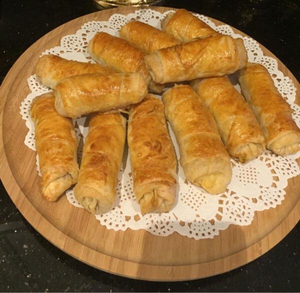 Knusprige Börek - Paçanga Böreği