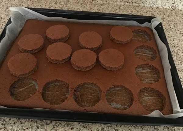 Mini Maulwurfkuchen - Mini Köstebek Pasta