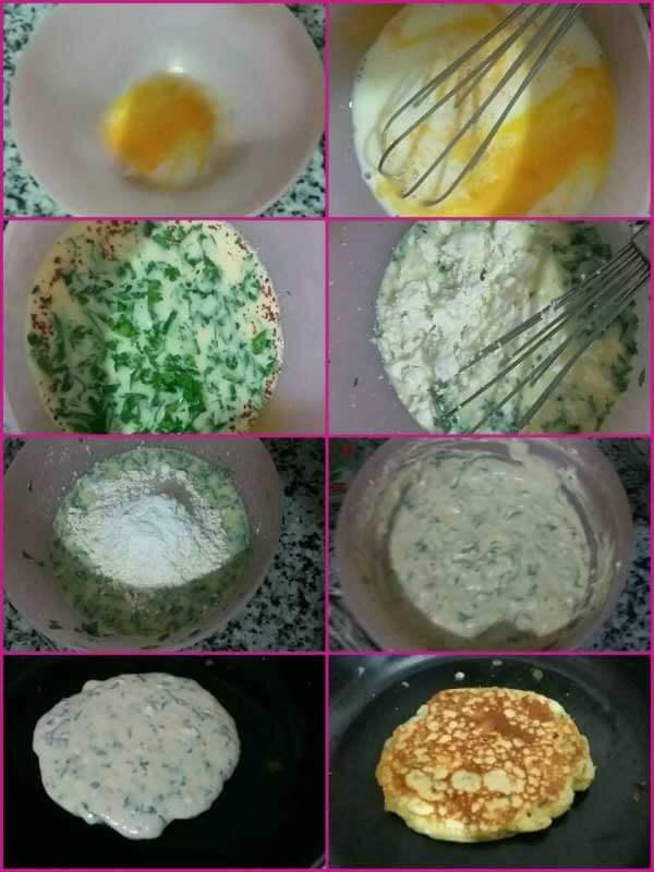 Pancake mit Käse - Peynirli Pankek