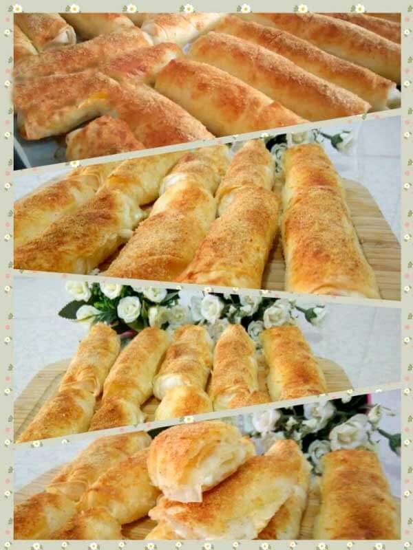 Börek mit Schlagsahne - Kremalı Börek