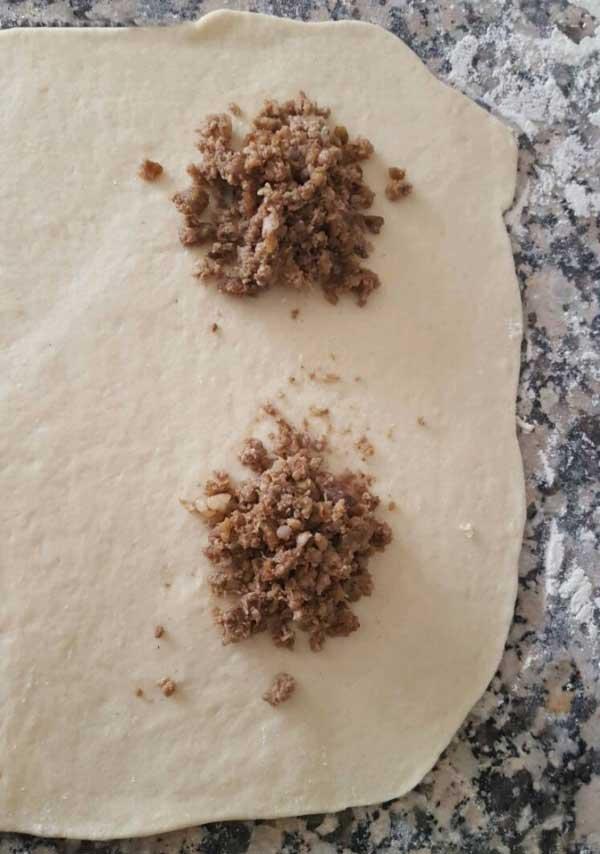 Gebäck aus der Pfanne - Tava Çöreği
