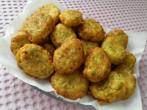Puffer mit Käse - Peynirli Mücver