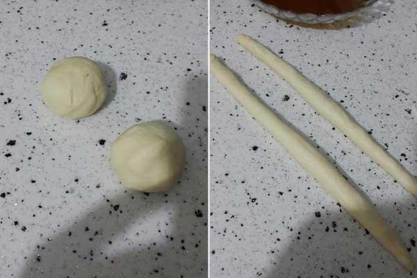 Sesamringe mit Milch - Sütlü Simit