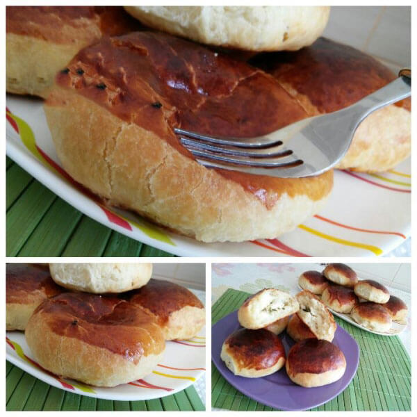 Börek mit Käse zum einfrieren - Peynirli Buzlu Poğaçası