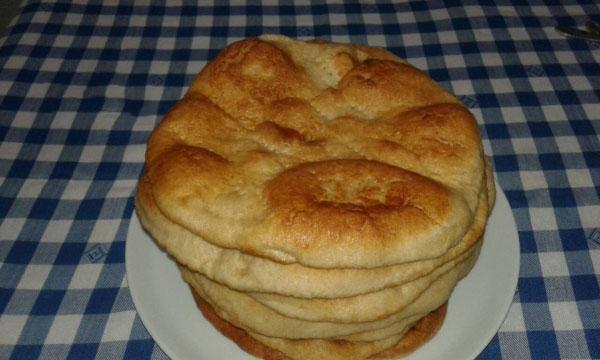 Brot aus der Pfanne - Ekşi Mayalı Tava Ekmeği