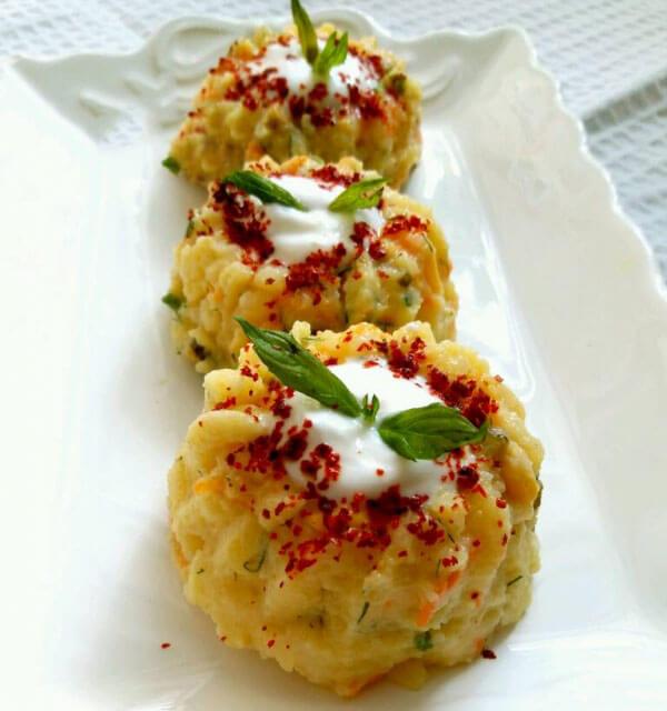 Kartoffelpüreesalat - Ezme Patates Salatası