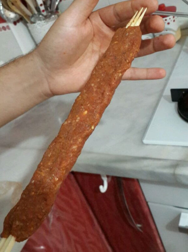 Türkischer Kebab aus dem Ofen - Fırında Adana Kebap