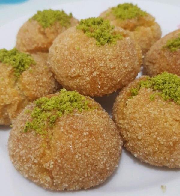 Dessert mit Grieß - İrmikli Hira Tatlısı