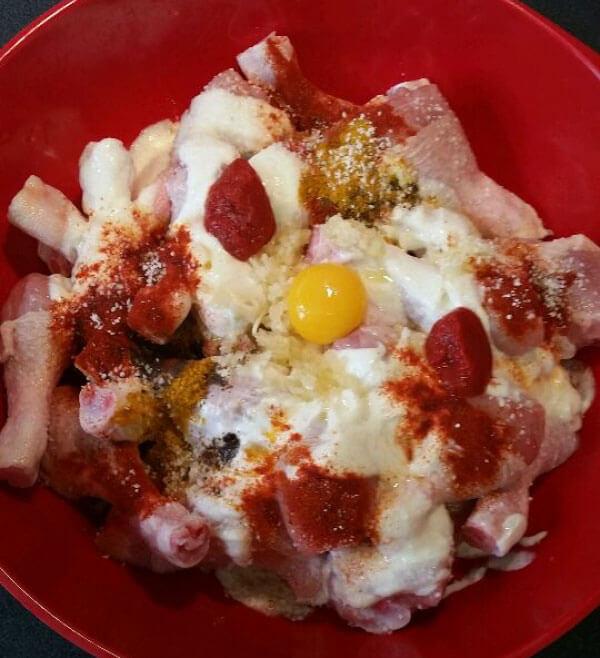 Hähnchenkeule aus dem Ofen - Fırında Tavuk Baget