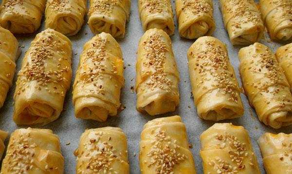 Börek mit Hackfleisch und Kartoffel - Kıymalı Patatesli Börek