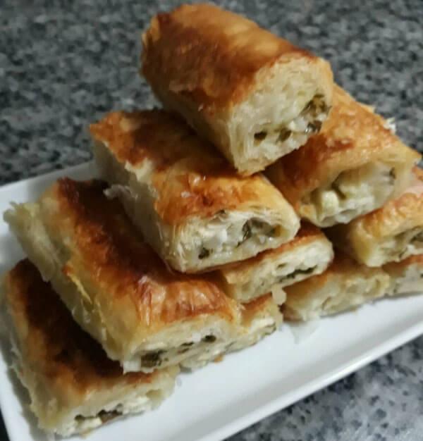 Börek mit Petersilie - Maydonozlu Börek