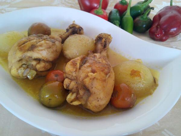Köstliche Hähnchenkeulen - Baget Kızartma