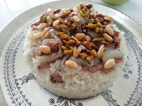 Reis mit Nüssen - Fıstıklı Pilav