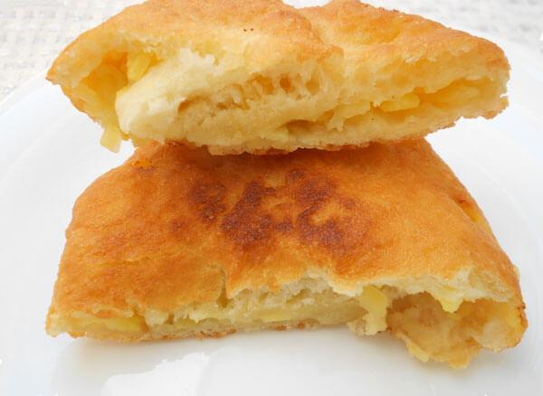 Türkisches Gebäck mit Kartoffel - Patatesli Pişi