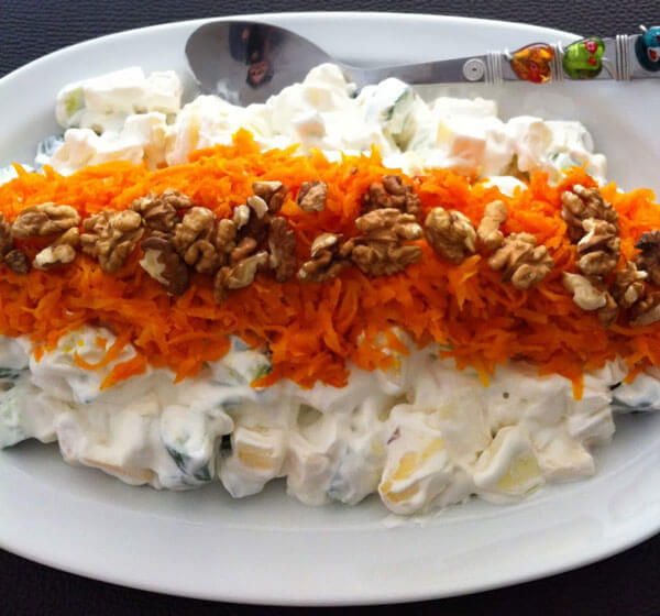 Photo of Apfelsalat – Elmalı Salata