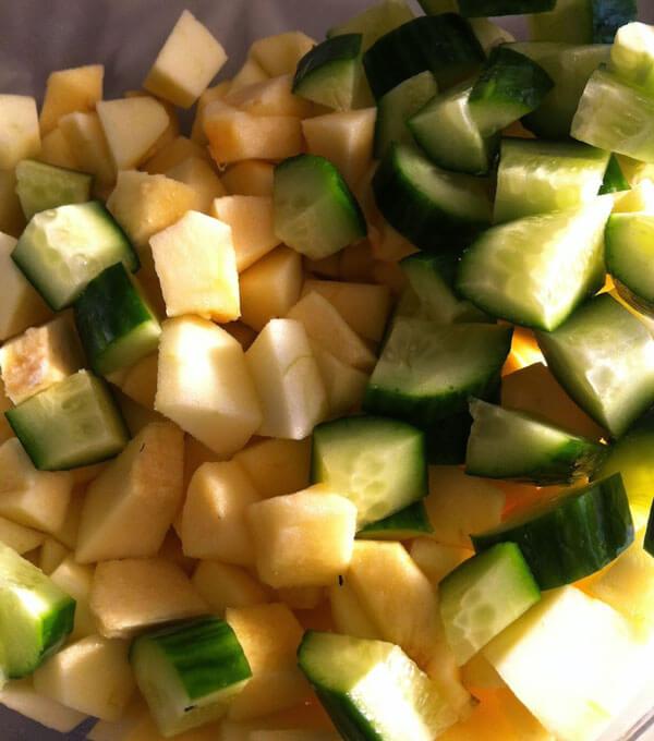 Apfelsalat - Elmalı Salata