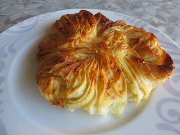 Börek mit Kartoffel - Büzgülü Patatesli Börek