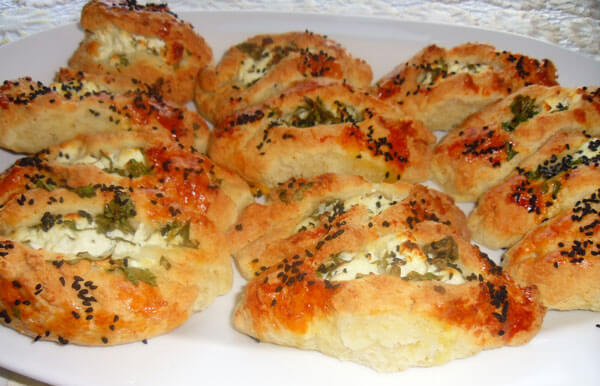 Börek mit Käse - Peynirli Poğaça