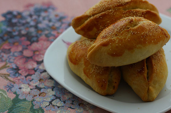 Börek mit Zucchini - Kabaklı Poğaça