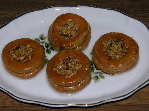 Dessert mit Nüssen - Fındıklı Tatlı
