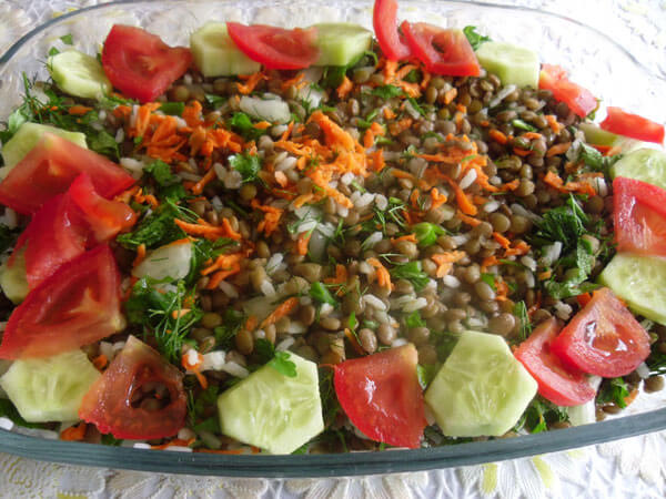 Photo of Linsensalat – Mercimek Salatası