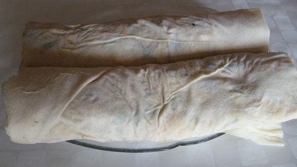 Börek mit Kartoffel - Patatesli Rulo Börek