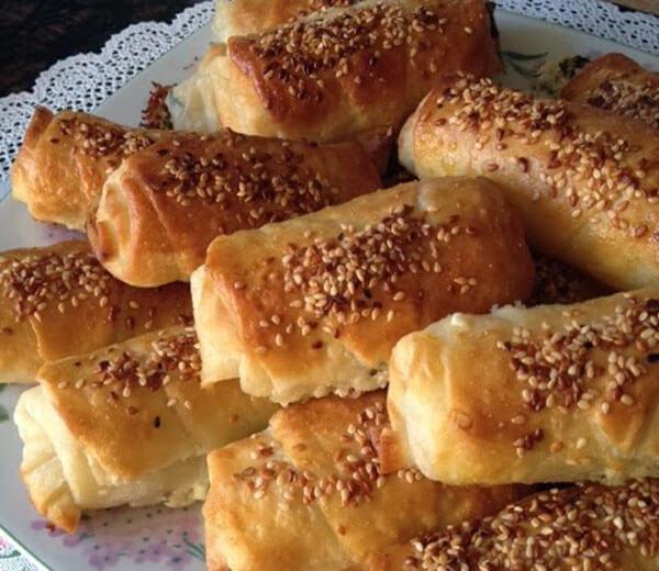 Börek mit Käse - Peynirli Yufka Böreği