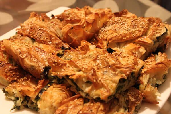 Photo of Börek mit Spinat – Ispanaklı Pileli Börek