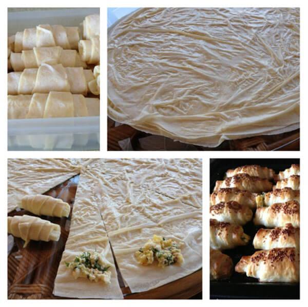 Börek zum einfrieren - Buzlukta Böreği