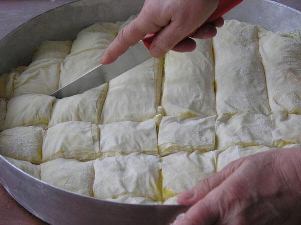 Türkisches lokales Gebäck - Laz Böreği