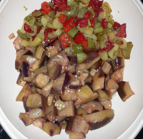 Auberginen Konserven mit Essig - Sirkeli Patlıcan Konserve