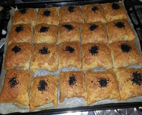 Börek mit Mohn - Haşhaşlı Zarf Börek