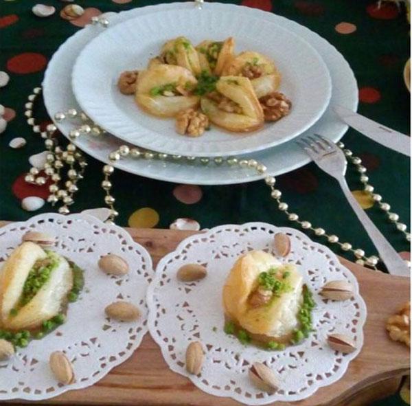 Geliebte's Lippen-Dessert - Dilber Dudağı Tatlısı
