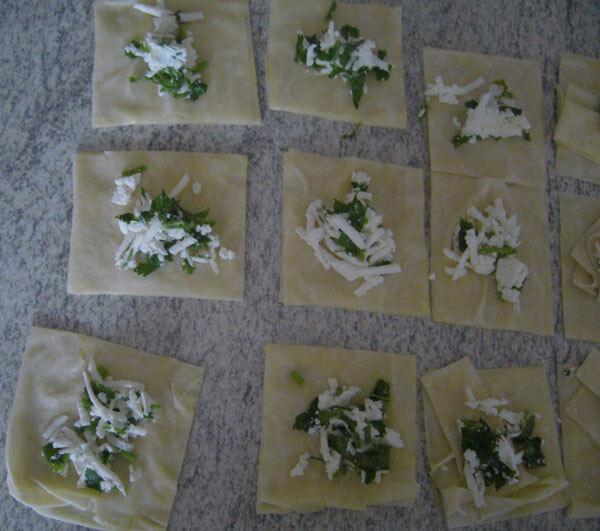 Praktische Börek zum einfrieren - Pratik Buzluk Börekleri