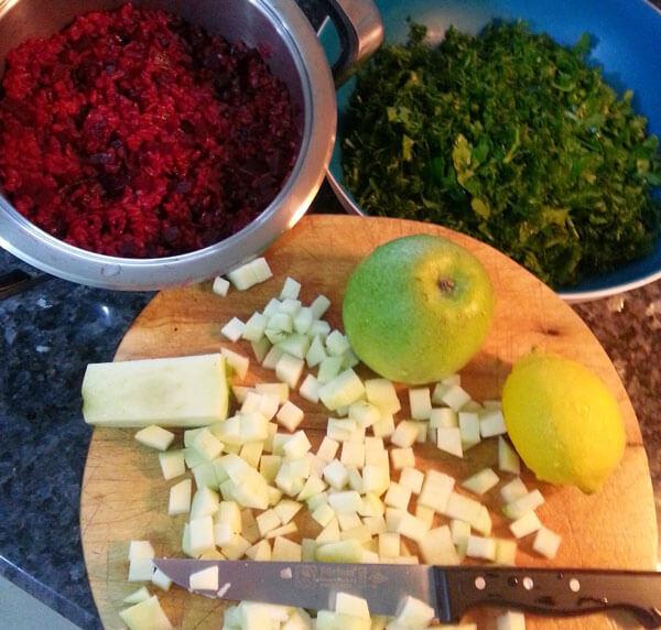 Rote Beete Salat - Pancar Salatası