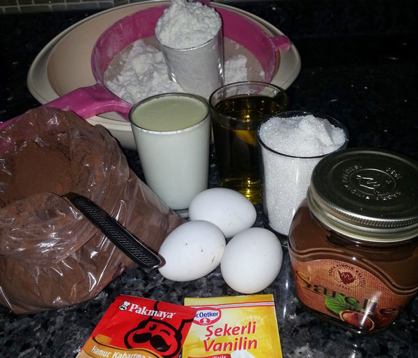 Schokokuchen - Çikolata Soslu Pamuk Kek