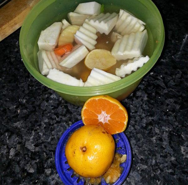 Sellerie mit Orangen - Pratik Portakallı Kereviz