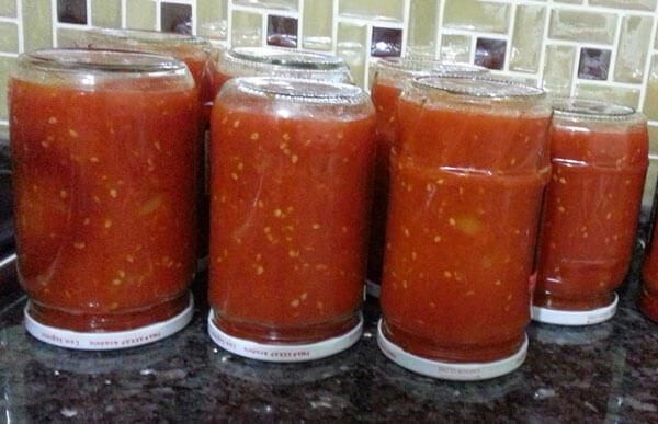 Tomatensoße - Domates Sosu