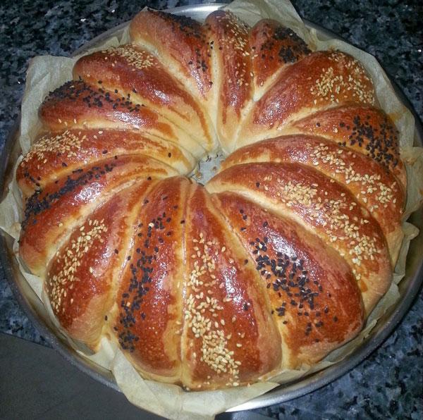 Türkisches Gebäck - Çiçek Çörek