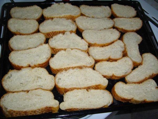 Brote mit Käse - Peynirli Ekmekler