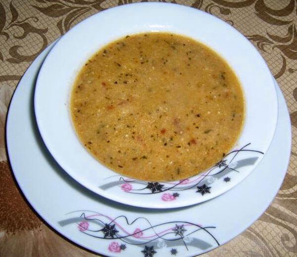 Linsensuppe mit Gemüse - Sebzeli Mercimek Çorbası