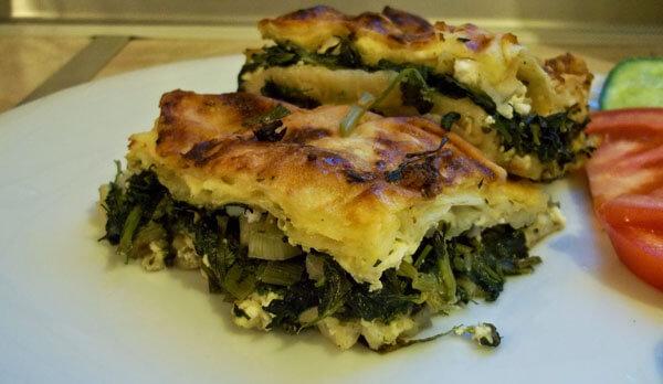 Börek mit Brennesseln - Isırgan Otlu Börek