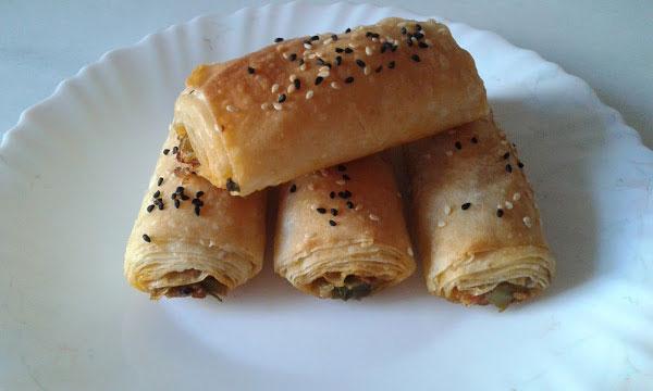 Börek mit Porree - Pırasalı Börek