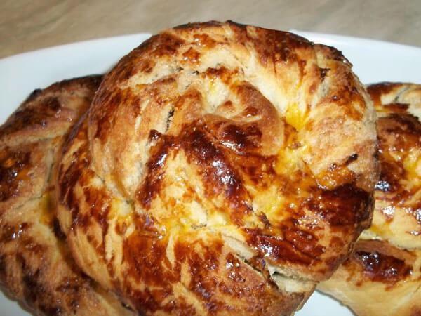 Gebäck mit Tahini - Tahinli Çörek