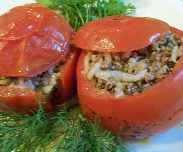 Gefüllte Tomaten - Domates Dolması