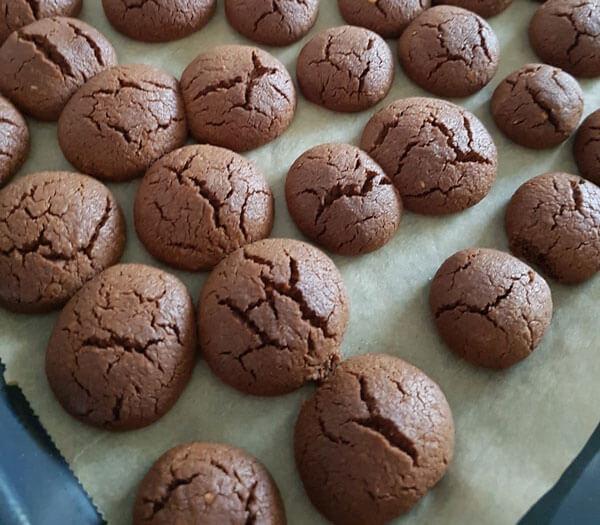 Schokoplätzchen - Pratik Çikolatalı Kurabiye